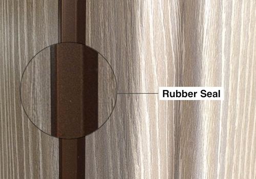 italian doors rubber seal